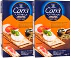 2x Carr's Flatbreads Thin & Crispy Crackers Mixed Seeds 150g 4