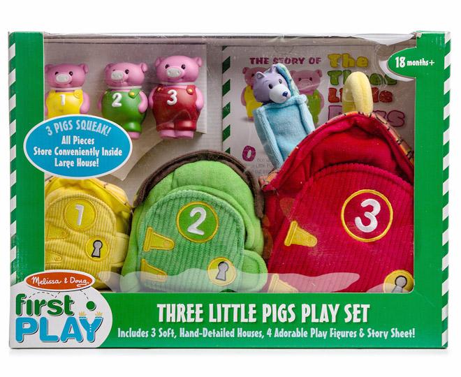 Catchoftheday Com Au Melissa Amp Doug Three Little Pigs