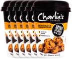 6 x Charlie's Cookies Dark Chocolate + Orange Blossom 110g 1