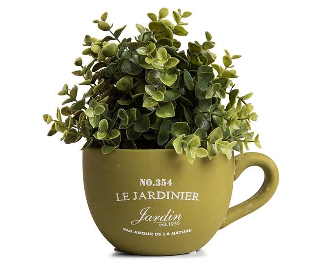 Le jardinier 15cm teacup planter for Le jardinier