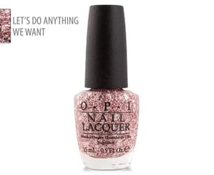 OPI Nail Lacquer - Let's Do Anything We Want