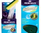 Hercules Dishwand With Refills 5pk 2