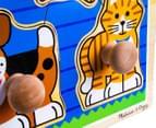 Melissa & Doug Jumbo Knob Puzzle - House Pets 2