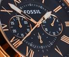 Fossil Men's Grant Chronograph Leather Watch 2