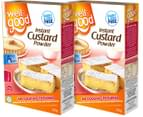 2 x Well & Good Instant CustardPowder 250g 5