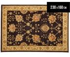 Designer Exclusive 230x160cm Royal Rug - Brown 1