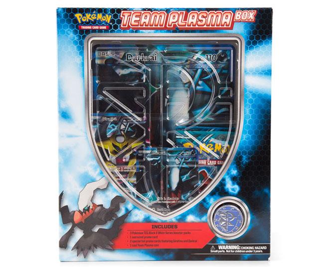 Catch of the day pok mon trading card game team plasma box set - Carte pokemon team plasma ...