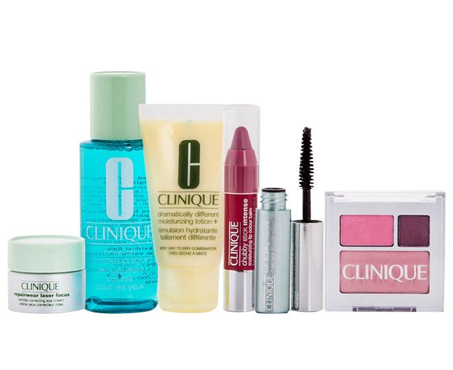 Clinique Cosmetic Belks Bag Set