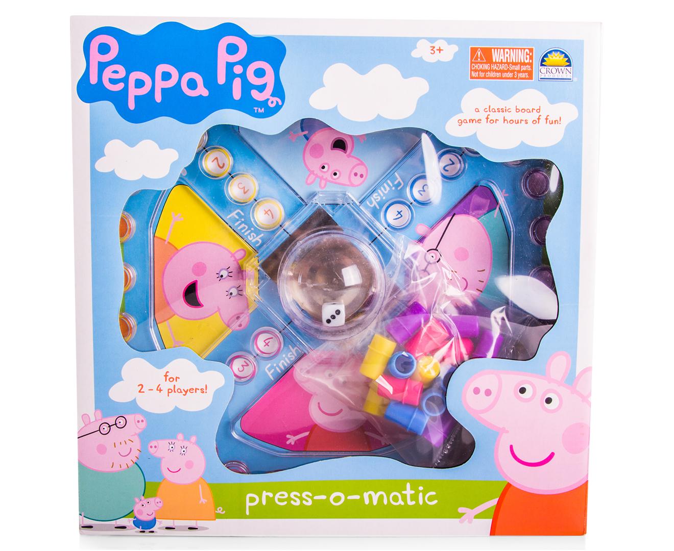 Catchoftheday Com Au Peppa Pig Press O Matic Board Game