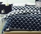 Belmondo Soho Single Quilt Cover Set - Black/White 1