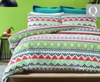 Belmondo Lima Queen Quilt Cover Set - Multi 1