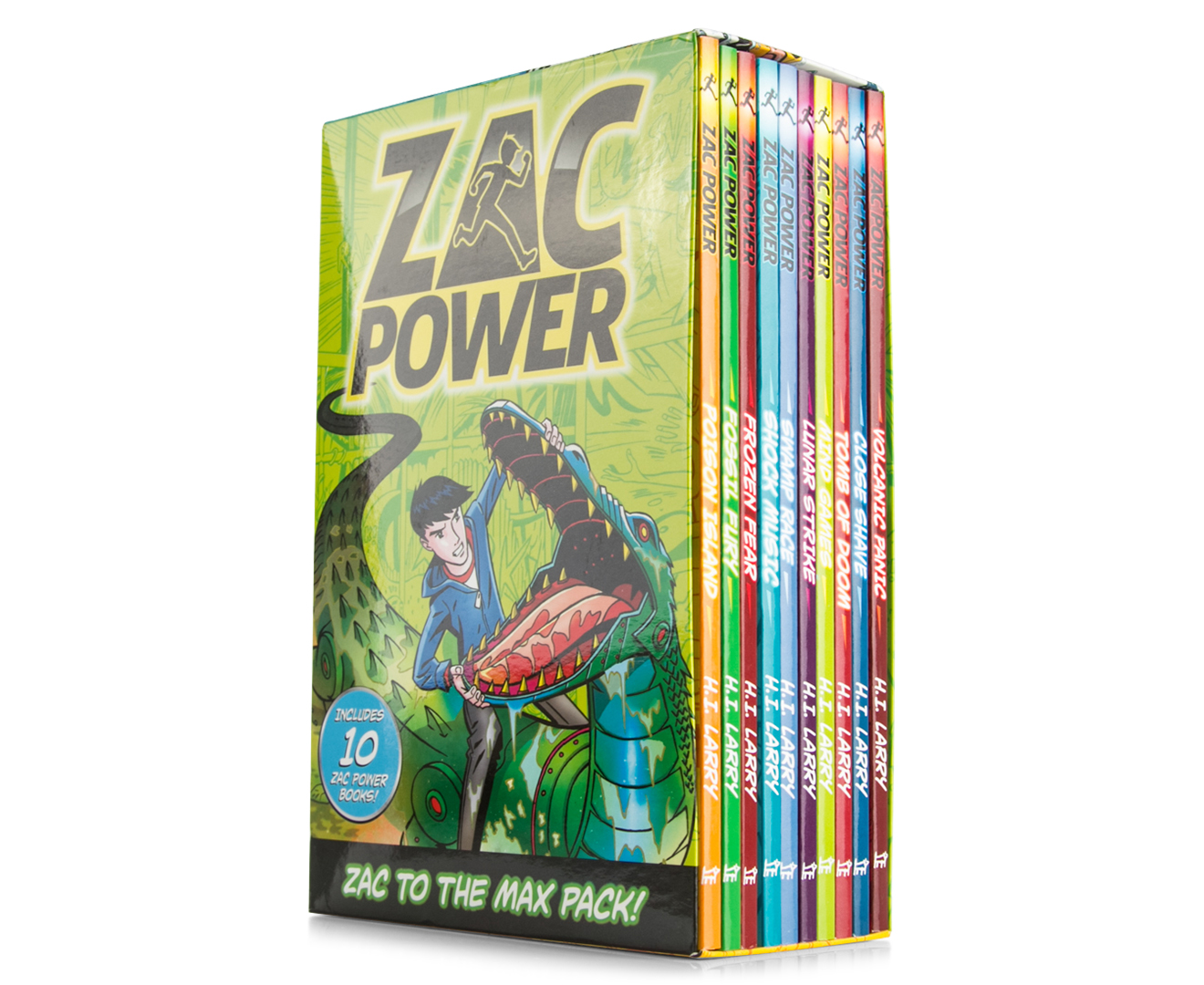 Catchoftheday Com Au Zac Power 10 Zac Power Book Set