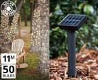 Solar Powered 50-Bulb Fairy Lights - Multi 1