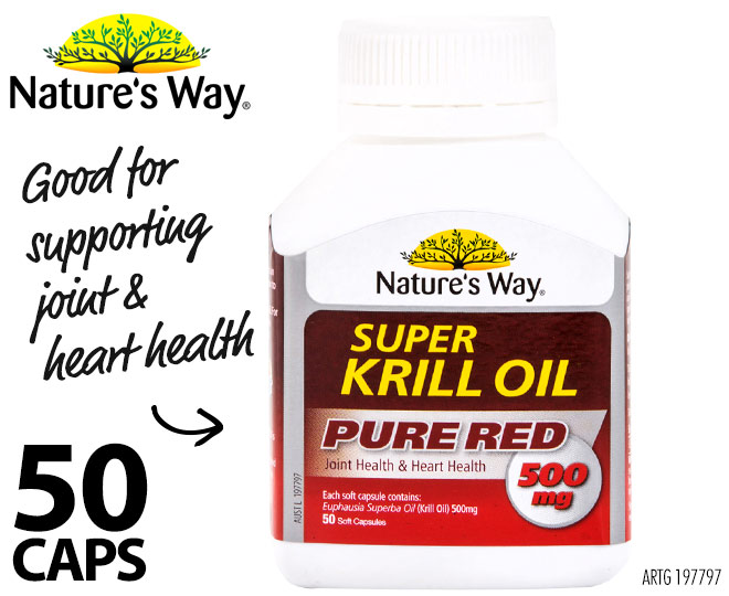 Nature S Way Red Krill Oil Mg