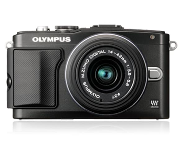 olympus pen lite e pl5 16mp camera twin lens kit. Black Bedroom Furniture Sets. Home Design Ideas