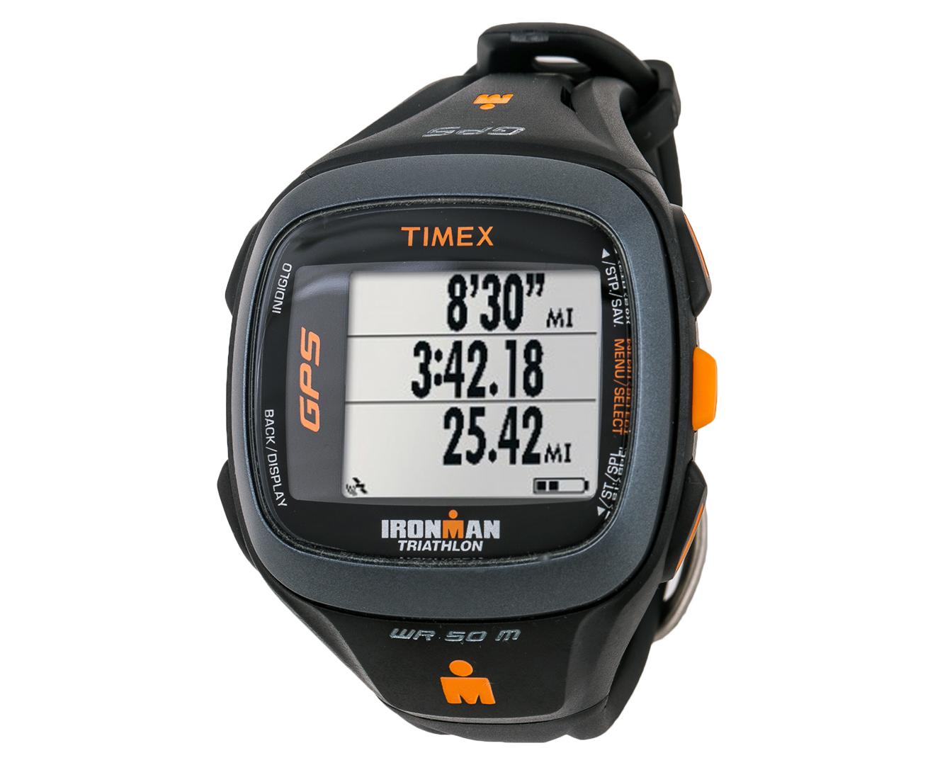 CatchOfTheDay.com.au | Timex IRONMAN® Run Trainer 2.0 GPS Watch - Black