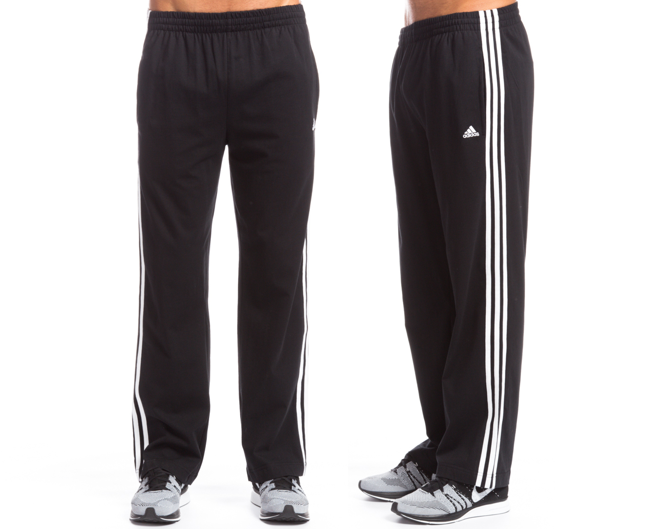 Image result for adidas 3 stripe pants