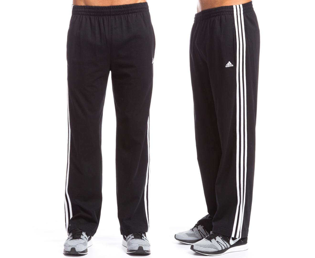 adidas three stripe pants
