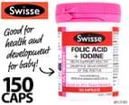 Swisse Ultiboost Folic Acid + Iodine 150 Caps 1