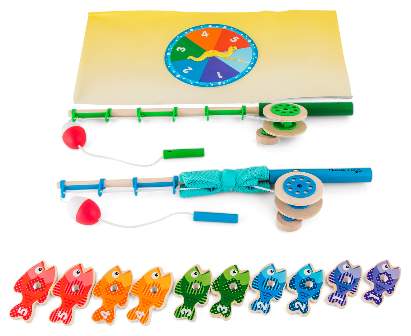 Melissa doug catch and count for Catch and count fishing game