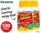 2 x Herron Vita Minis Super Multis 60 Tabs 1