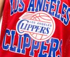 Mitchell & Ness LA Clippers Mesh Tank - Red 4