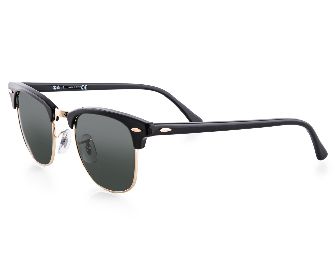 ray ban clubmaster rb3016 sunglasses black