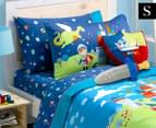 Freckles Good Knight Single Bed Sheet Set - Multicoloured 1