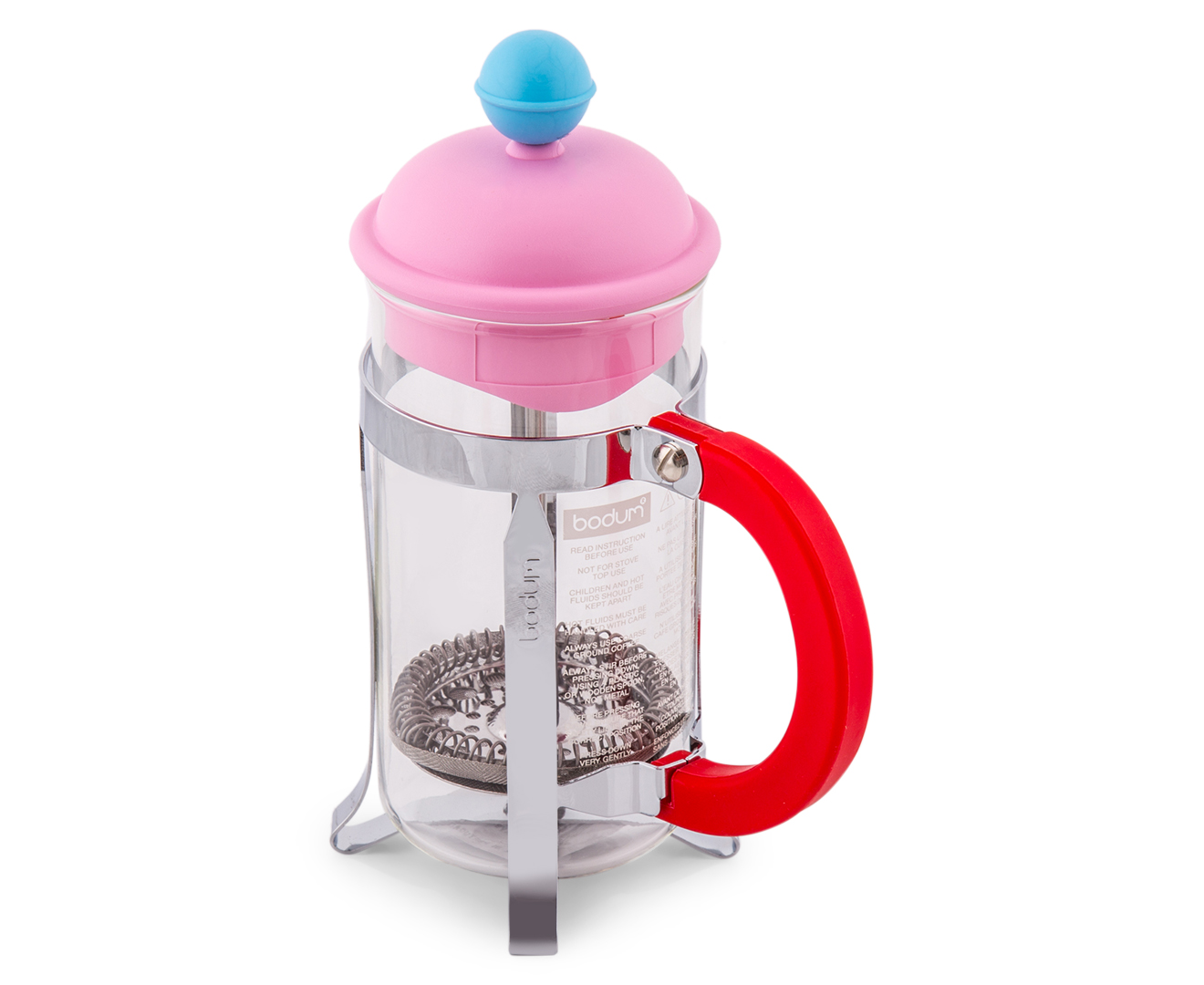 Pink French Press Coffee Maker : CatchOfTheDay.com.au BODUM 350mL French Press Coffee Maker - Pink