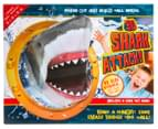 3D Shark Attack Press Out Wall Model Set 1