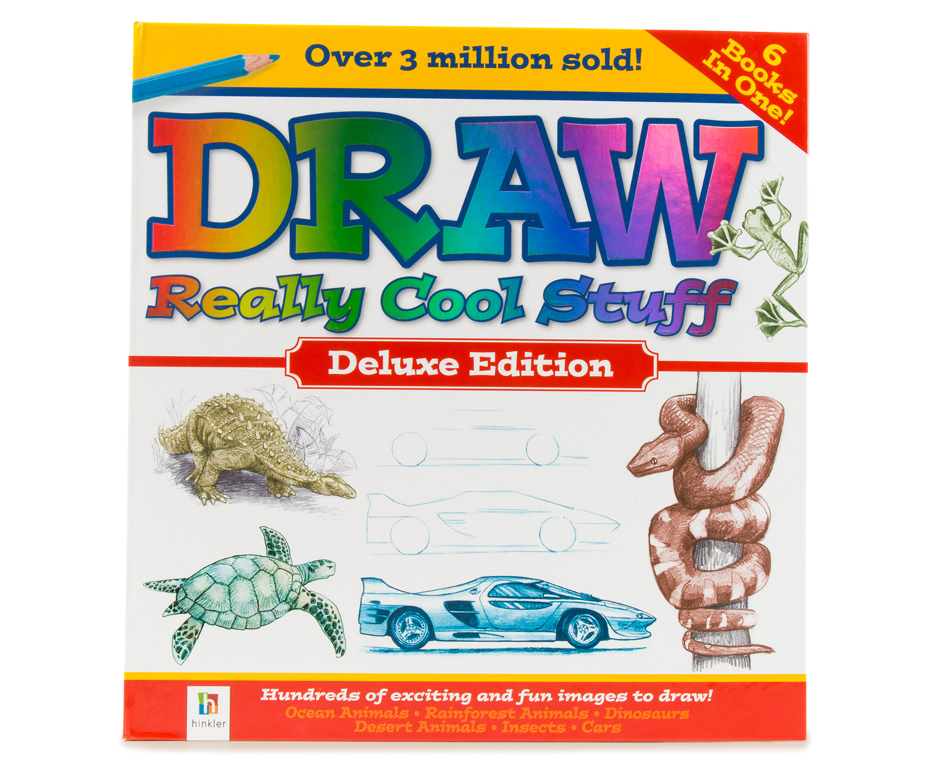 CatchOfTheDay.com.au | Draw Really Cool Stuff Deluxe Edition