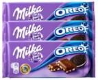 3 x Milka Oreo 100g 1
