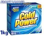 Cold Power Laundry Powder Front Loader 1kg 1