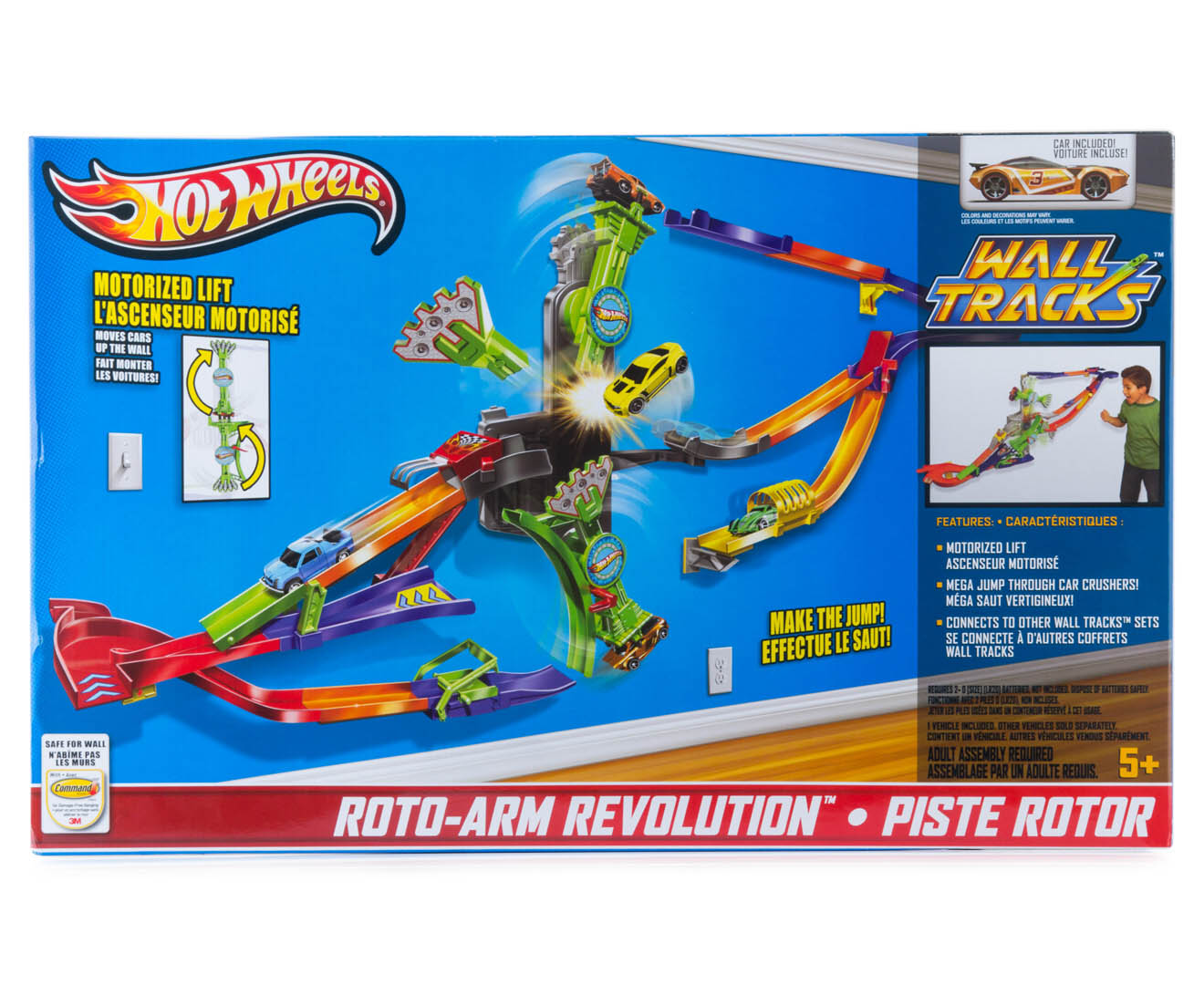 hot wheels roto revolution instructions