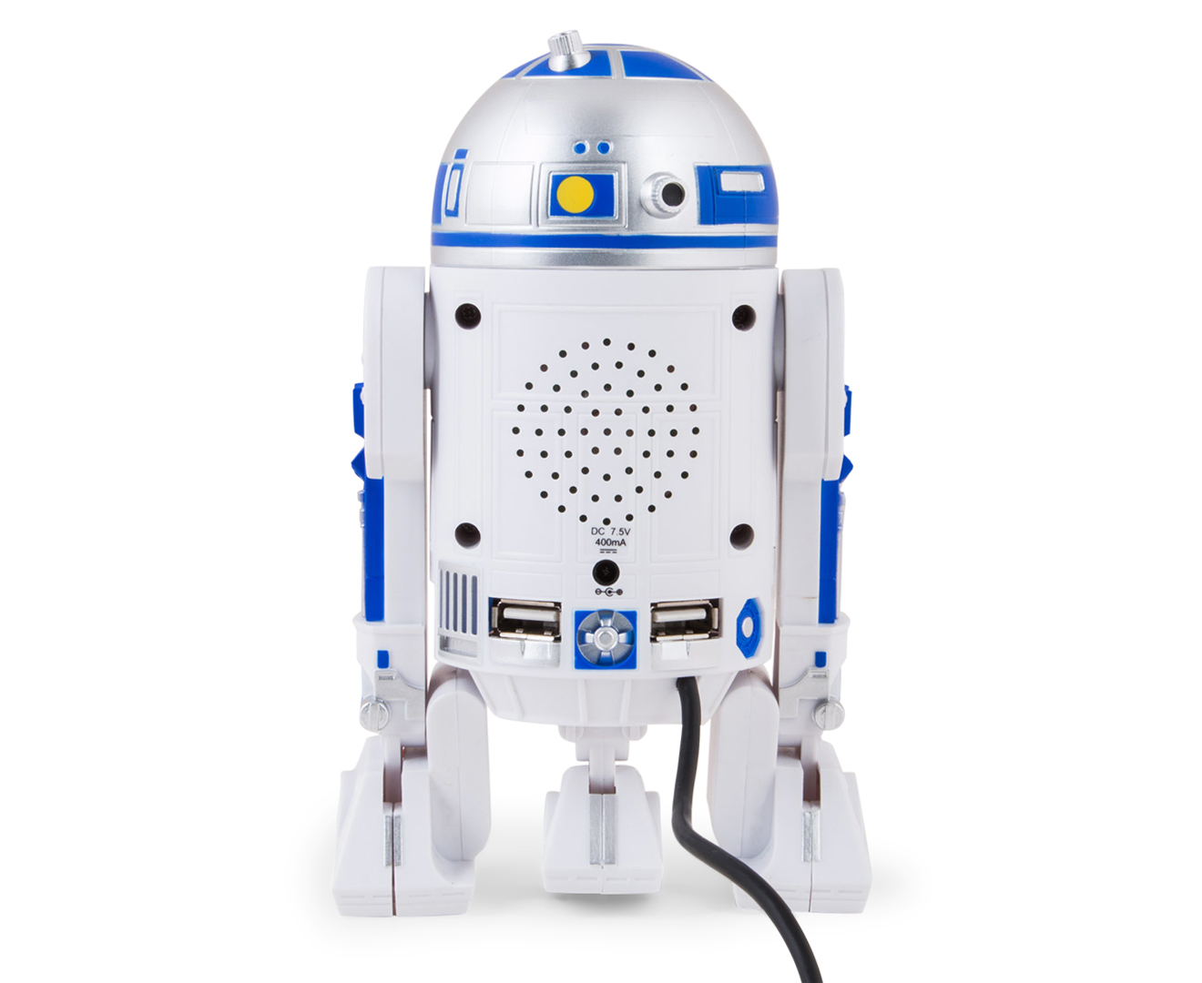 star wars r2 d2 4 port usb hub. Black Bedroom Furniture Sets. Home Design Ideas