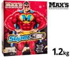 Max's Super Size Protein Powder Cookies & Cream 1.2kg 1