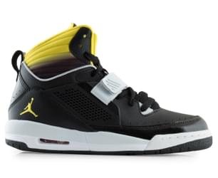 Nike Kids' Jordan Flight 97 Shoes - Black/Yellow