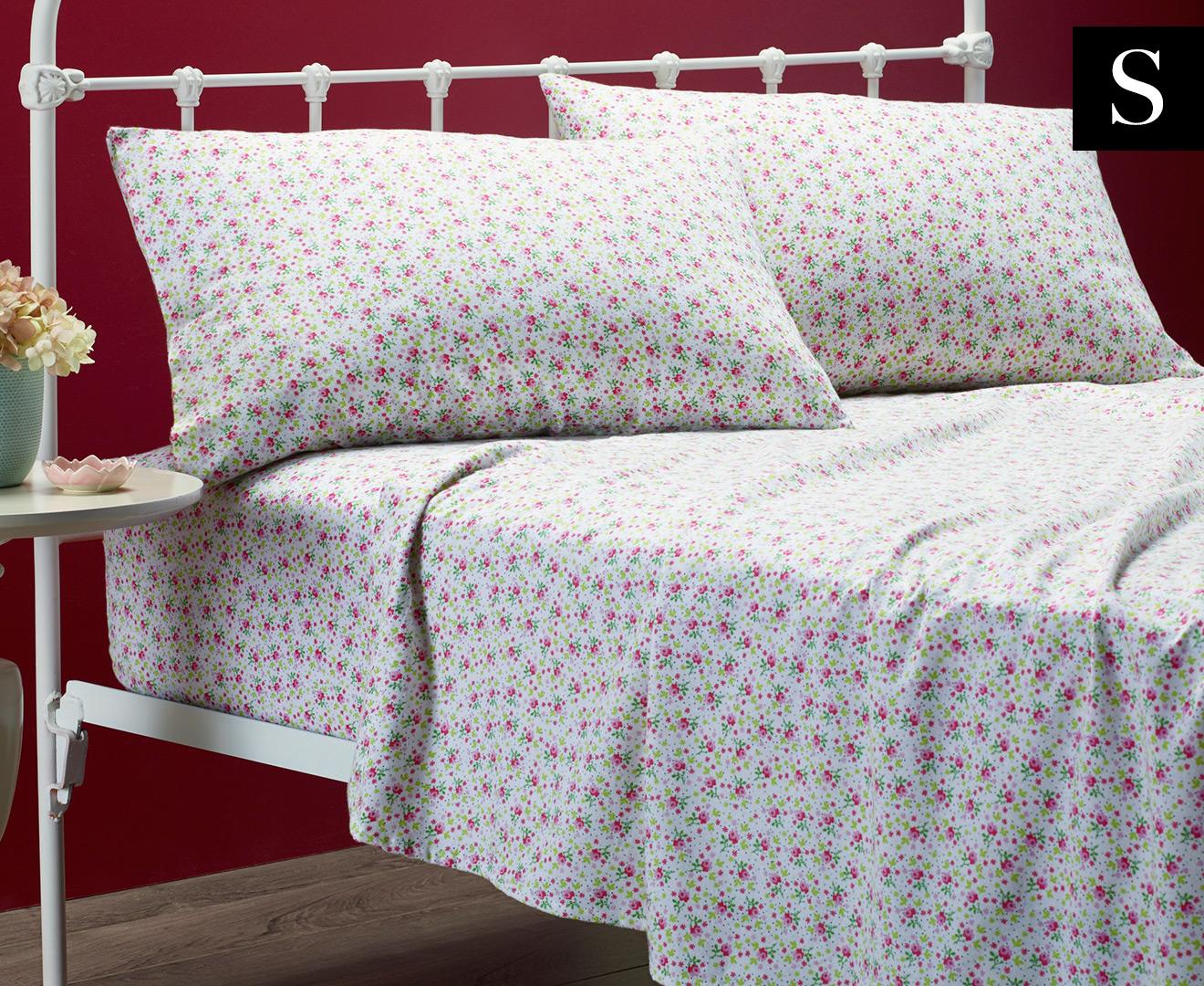 Scoopon Shopping | Belmondo Flannelette Single Sheet Set ...