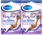 2 x Scholl Party Feet Invisible Gel Cushions 1