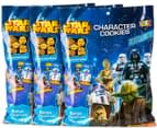 3 x Star Wars Character Cookies 200g 10pk 1