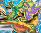 Melissa & Doug Wooden Dinosaur Magnets 5