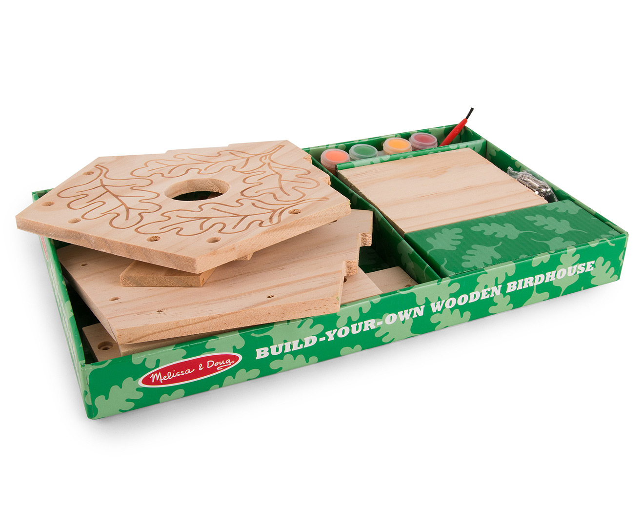 CatchOfTheDay.com.au | Melissa & Doug Build Your Own Wooden Birdhouse