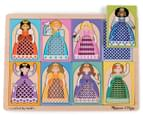 Melissa & Doug Peek-Though Puzzle Princesses 2