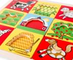Melissa & Doug Peek-Through Puzzle Farm 4