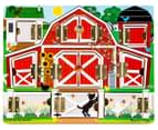 Melissa & Doug Hide & Seek Farm Magnetic Board 1
