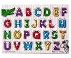 Melissa & Doug Alphabet Peg Puzzle 2