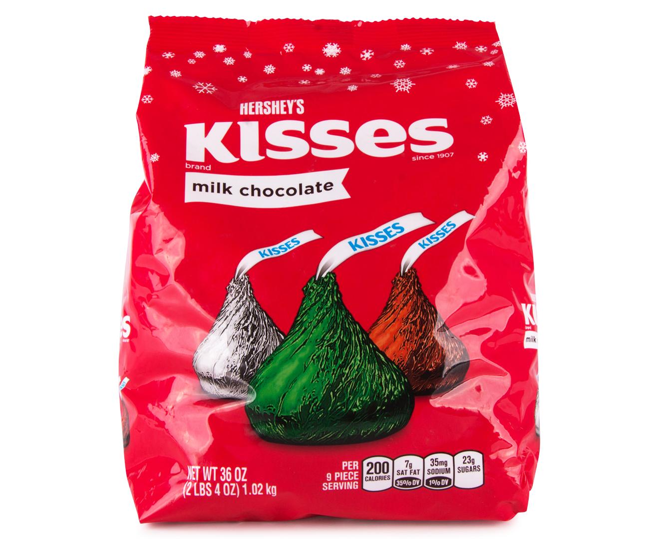 CatchOfTheDay.com.au | Hershey's Kisses Milk Chocolate 1.02kg