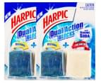 2 x Harpic Dual Action Cistern Blocks 114g 1