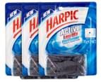 3 x Harpic Active Long Life Cistern Blocks 95g 1