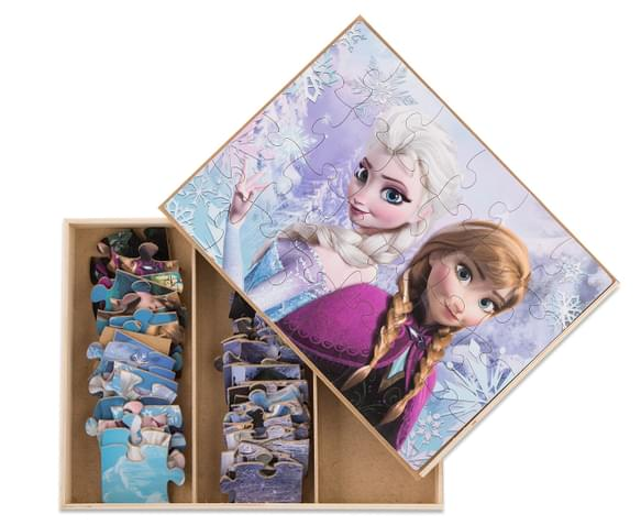 Catchoftheday Com Au Frozen 5 Wood Puzzle Box
